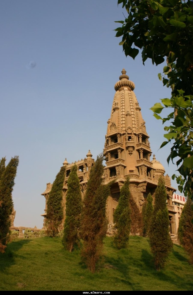 The garden surrounding Baron Empain's Palace
