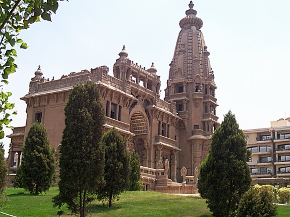 Baron Empain palace in Egypt