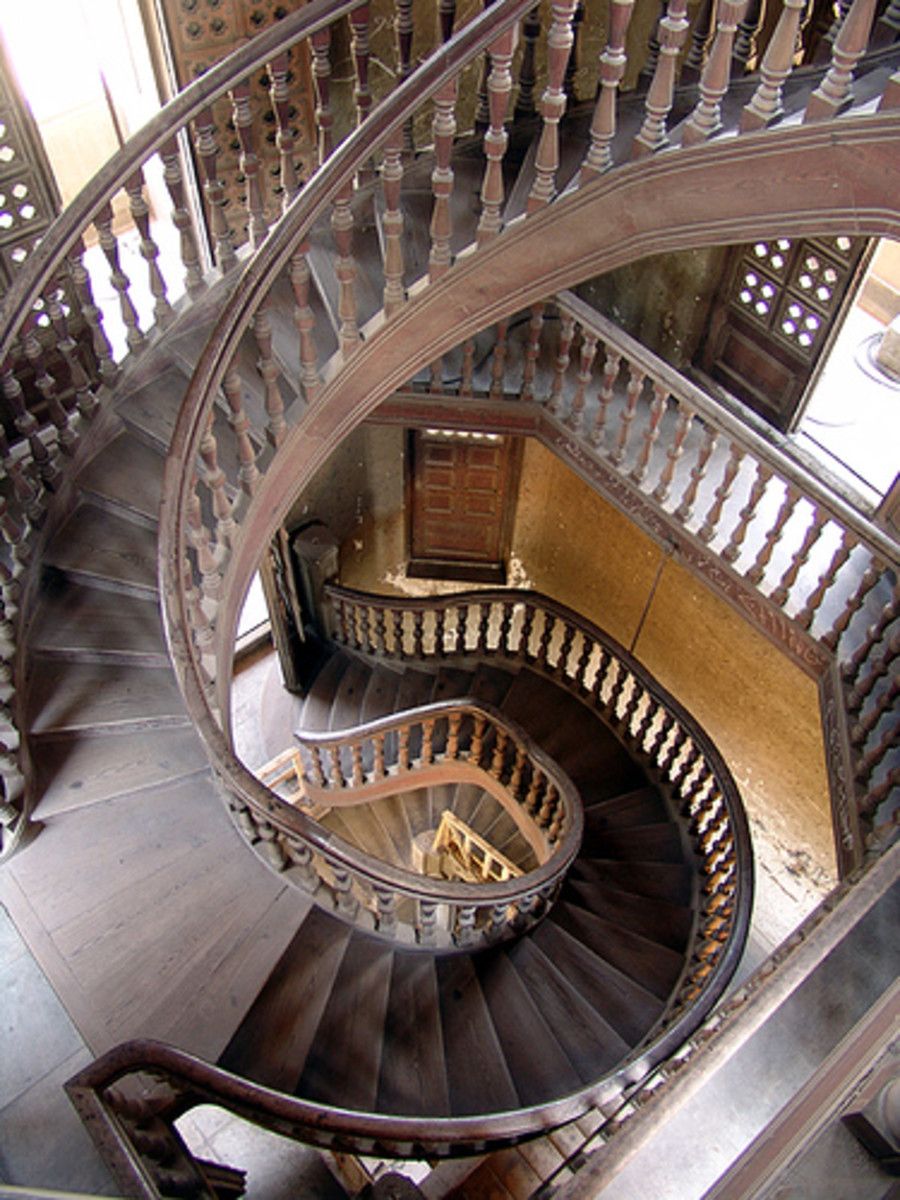 Baron Empain's Palace   Stairs Leading to the Champer of Rosary
