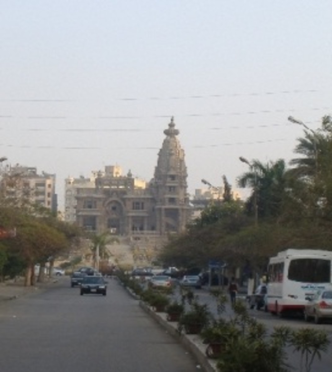 Baron Empain Palace in Heliopolis