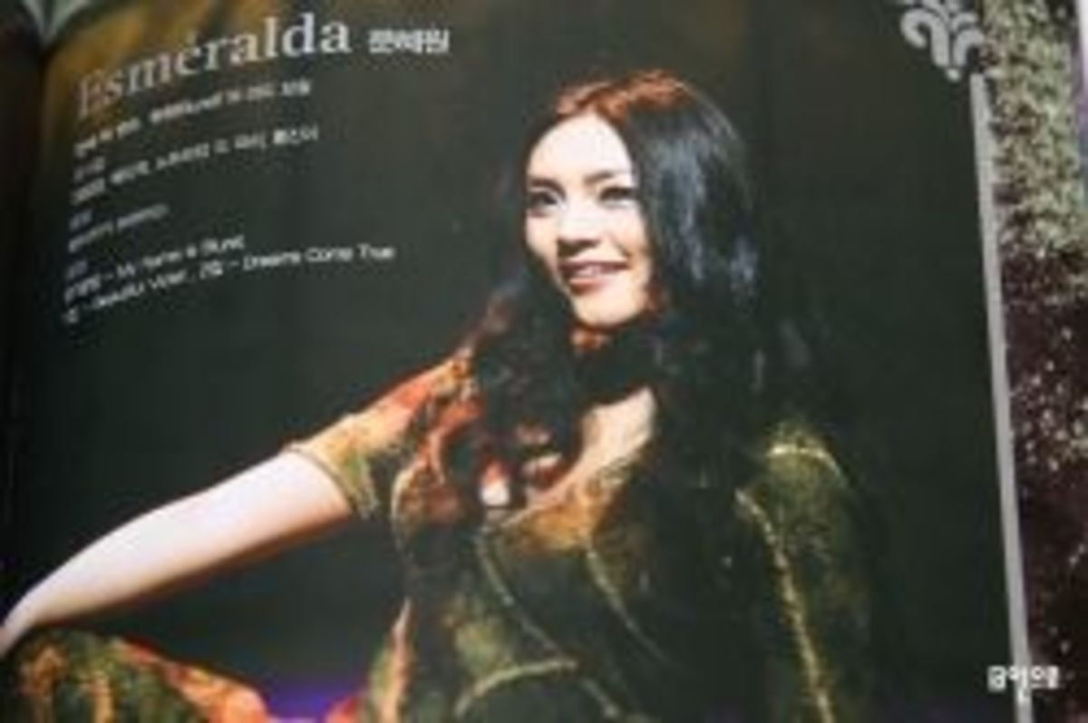 Moon Hye-Won as Esmeralda