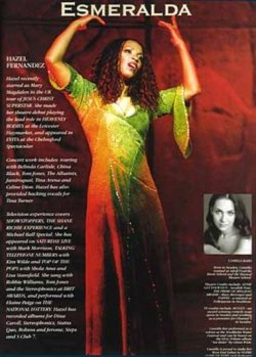 Hazel Fernandes as Esmeralda