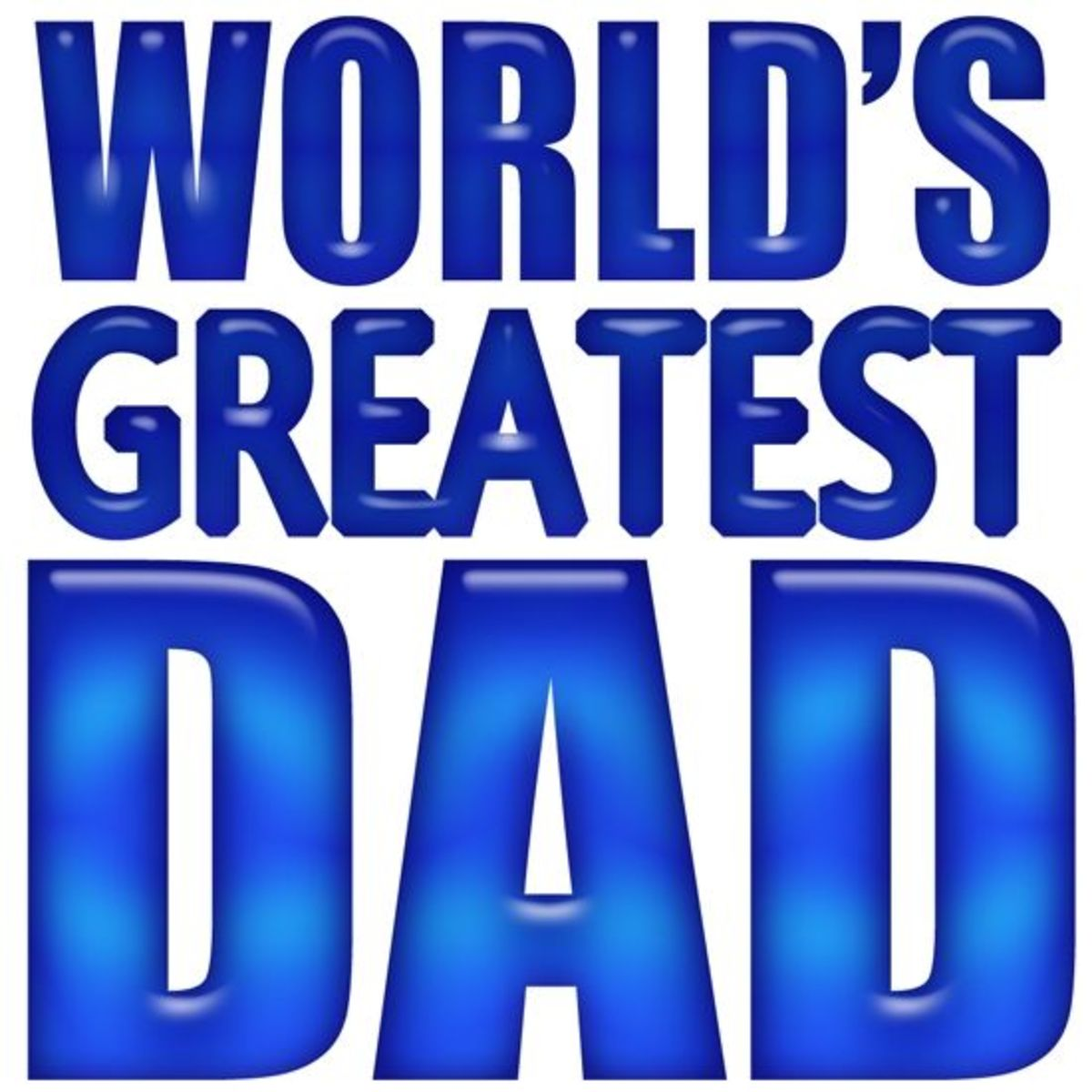 World's Greatest Dad Father's Day  Clip Art