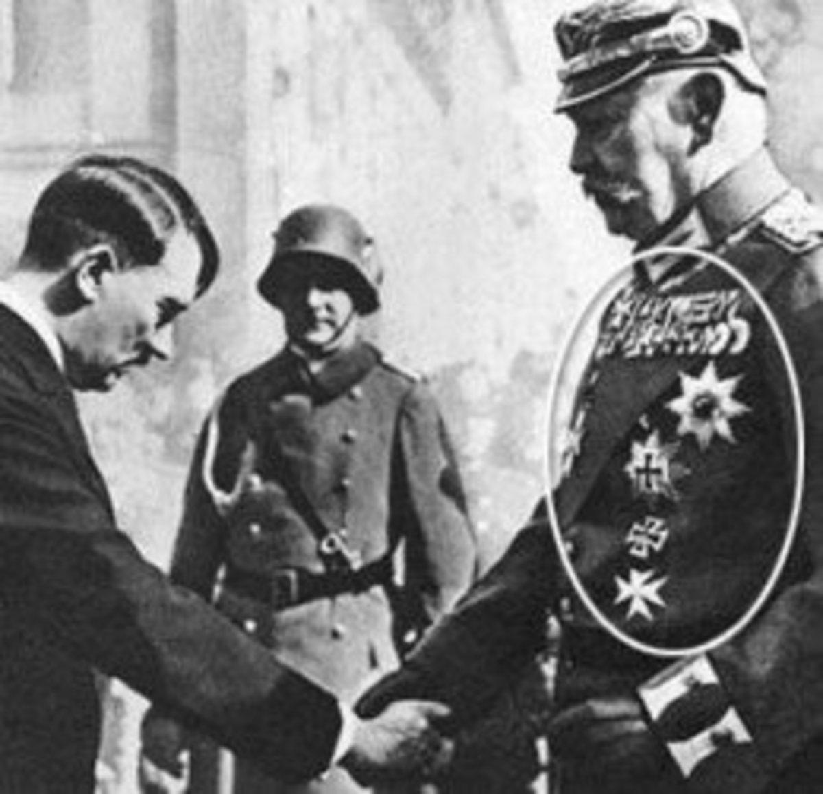 Adolph Hitler and Dietrich Eckhart