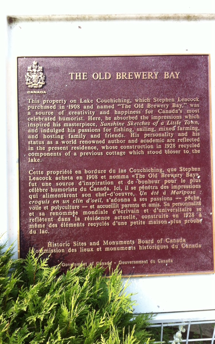 The Old Brewery Bay, Home of Stephen Leacock