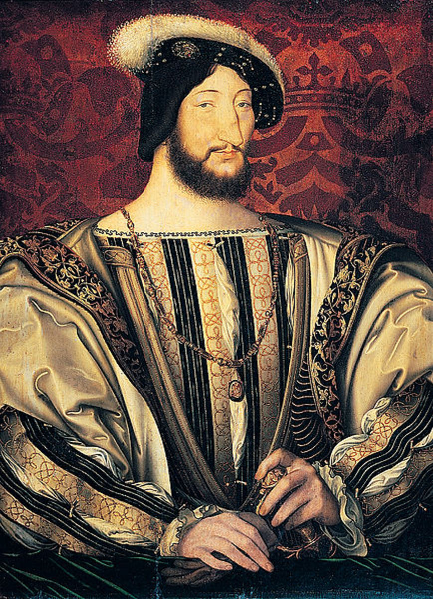 Francois I - King of France, source Wikipedia - History of Yogurt, Yoghurt, Yogourt or Yoghourt