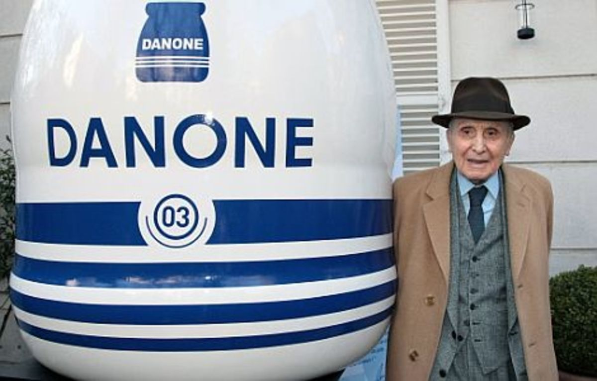 Daniel Carasso - Danone, from elmundo.es - History of Yogurt, Yoghurt, Yogourt or Yoghourt