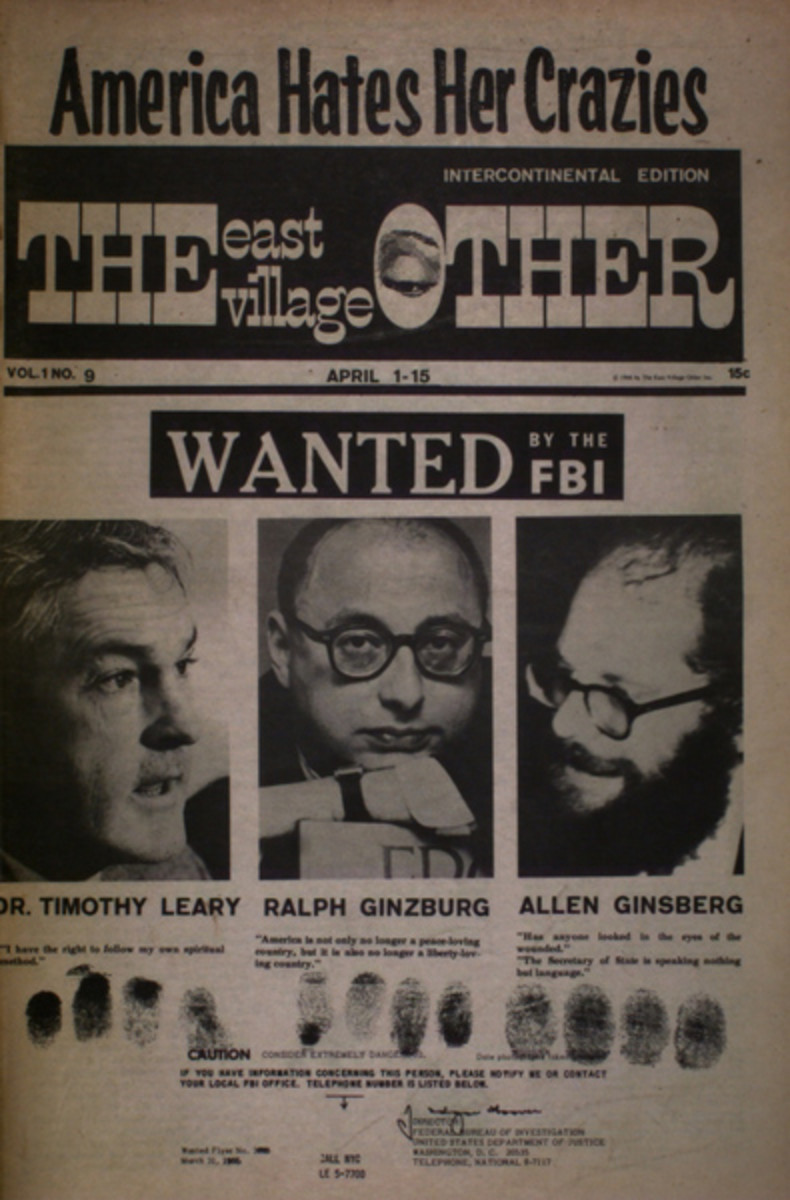 The East Village Other FBI Cover