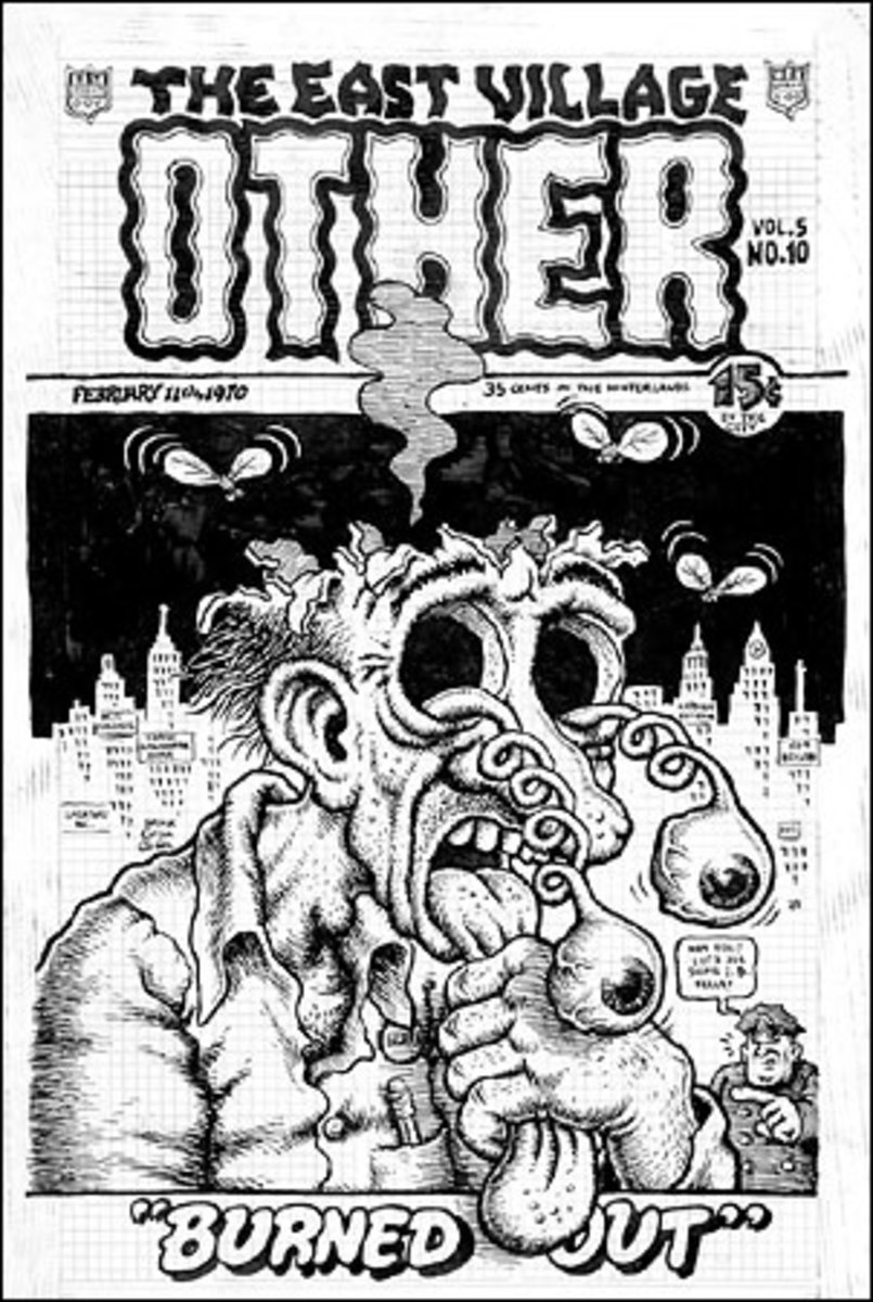 The East Village Other February 1970 Cover