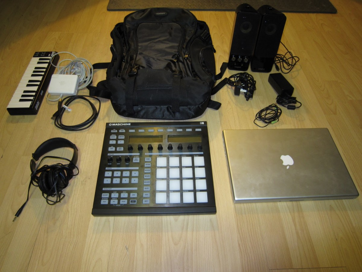 Lets see you put the mpc in a backpack with all this gear