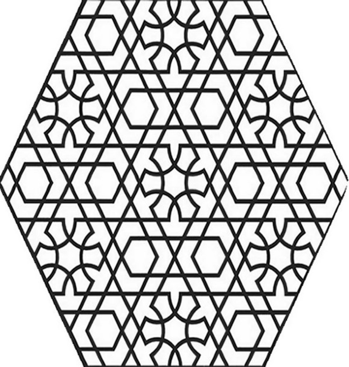 coloring pages geometric staind glass - photo#13