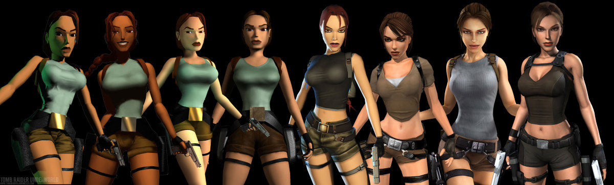 The Digital Evolution of Lara Croft (1996 - 2011)