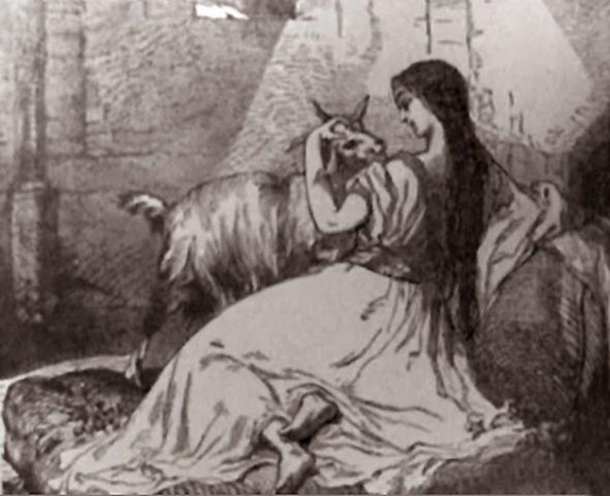 Esmeralda Illustration  19th century