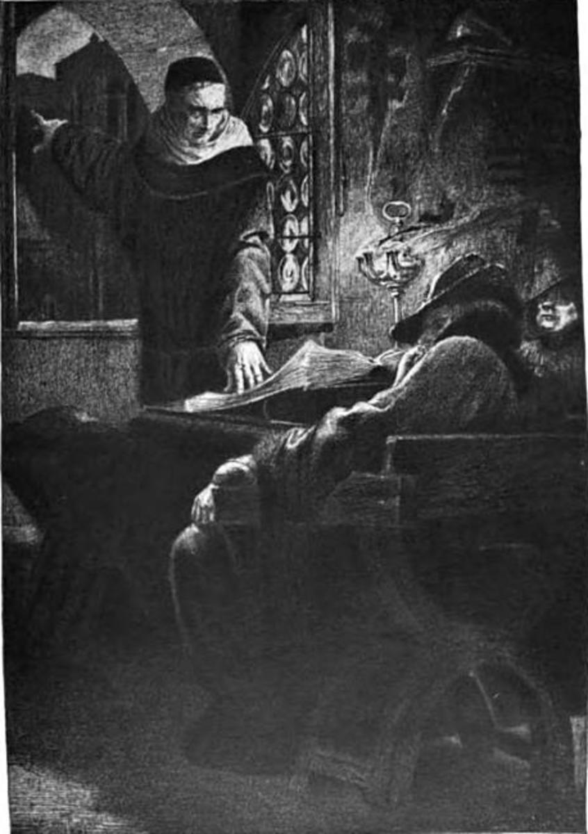 Illustration of Frollo