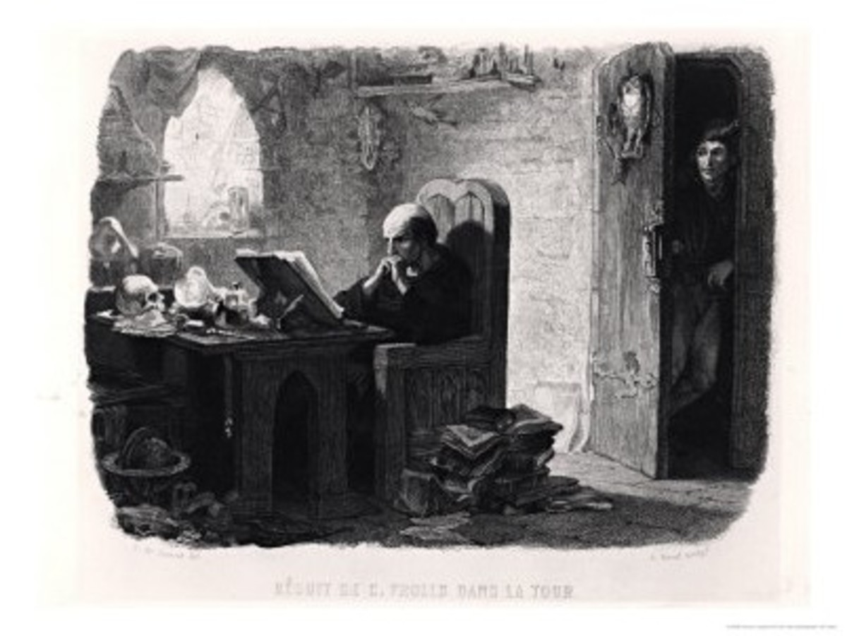 Frollo in this cell Francois Joseph Aime de Lemud