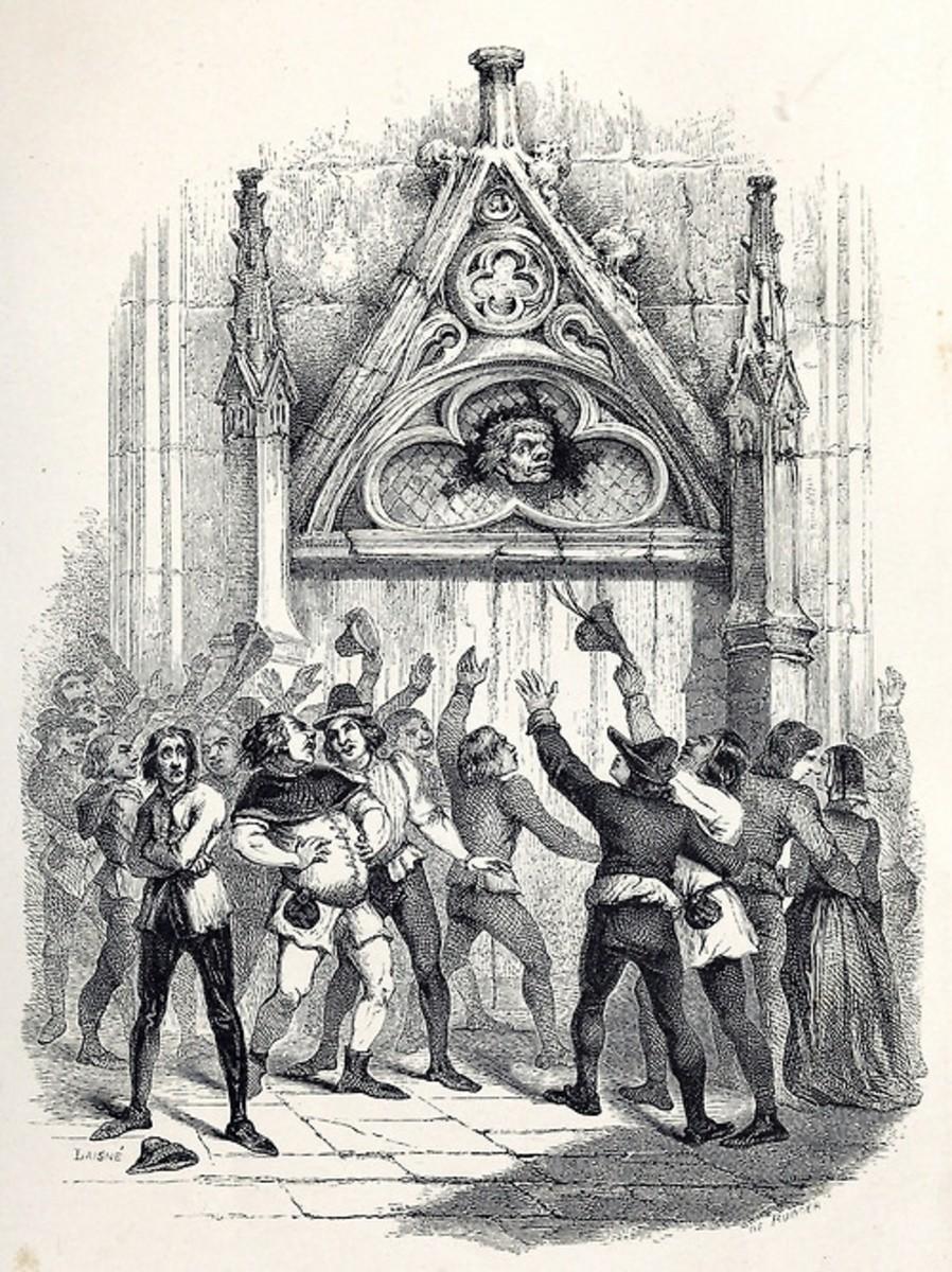 Pope of Fools L.H de Rudder 1844