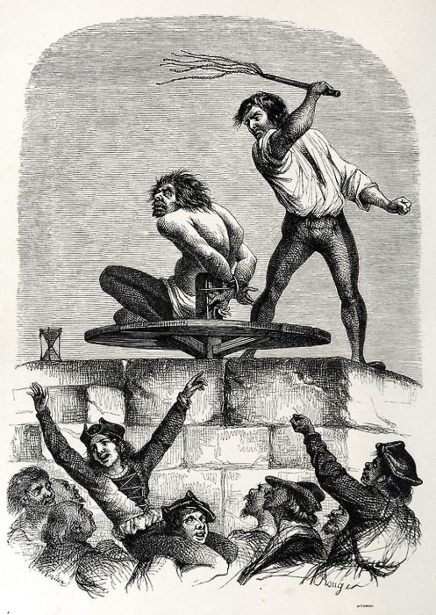 Quasimodo on the Pillory L.H de Rudder 1844