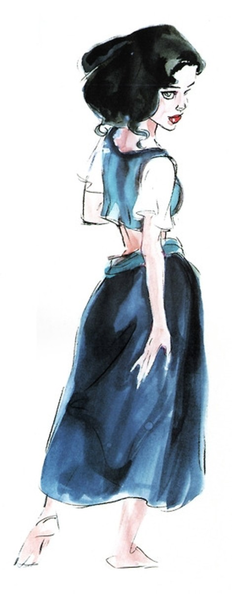 Concept Art of Esmeralda