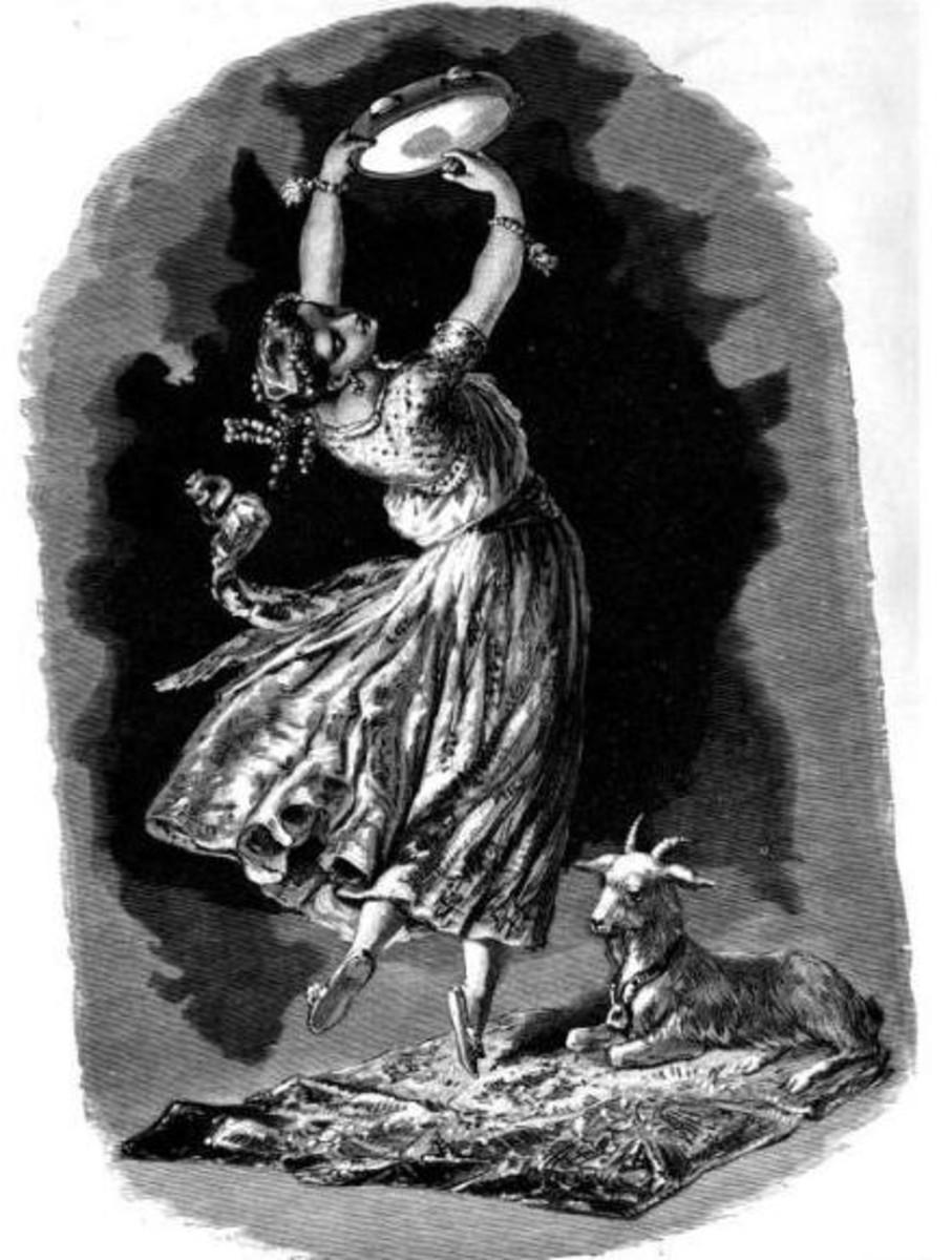 La Esmeralda Dancing