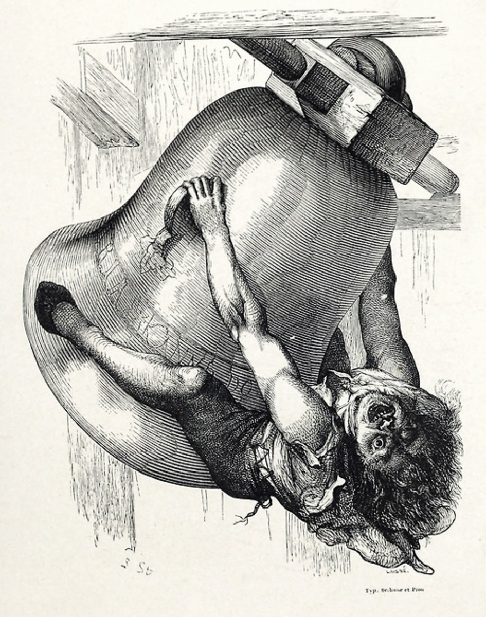 An Illustration Quasimodo on a Bell
