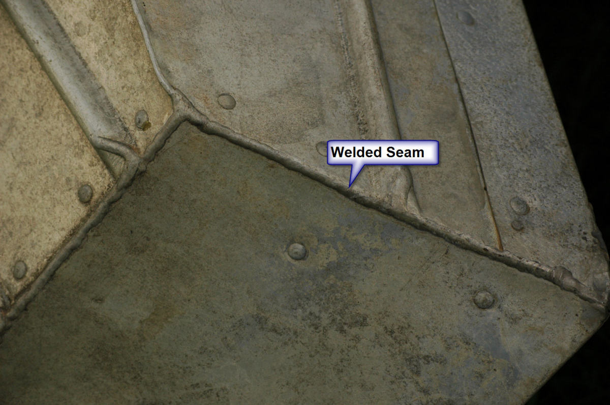 Tinboat Welded Seam