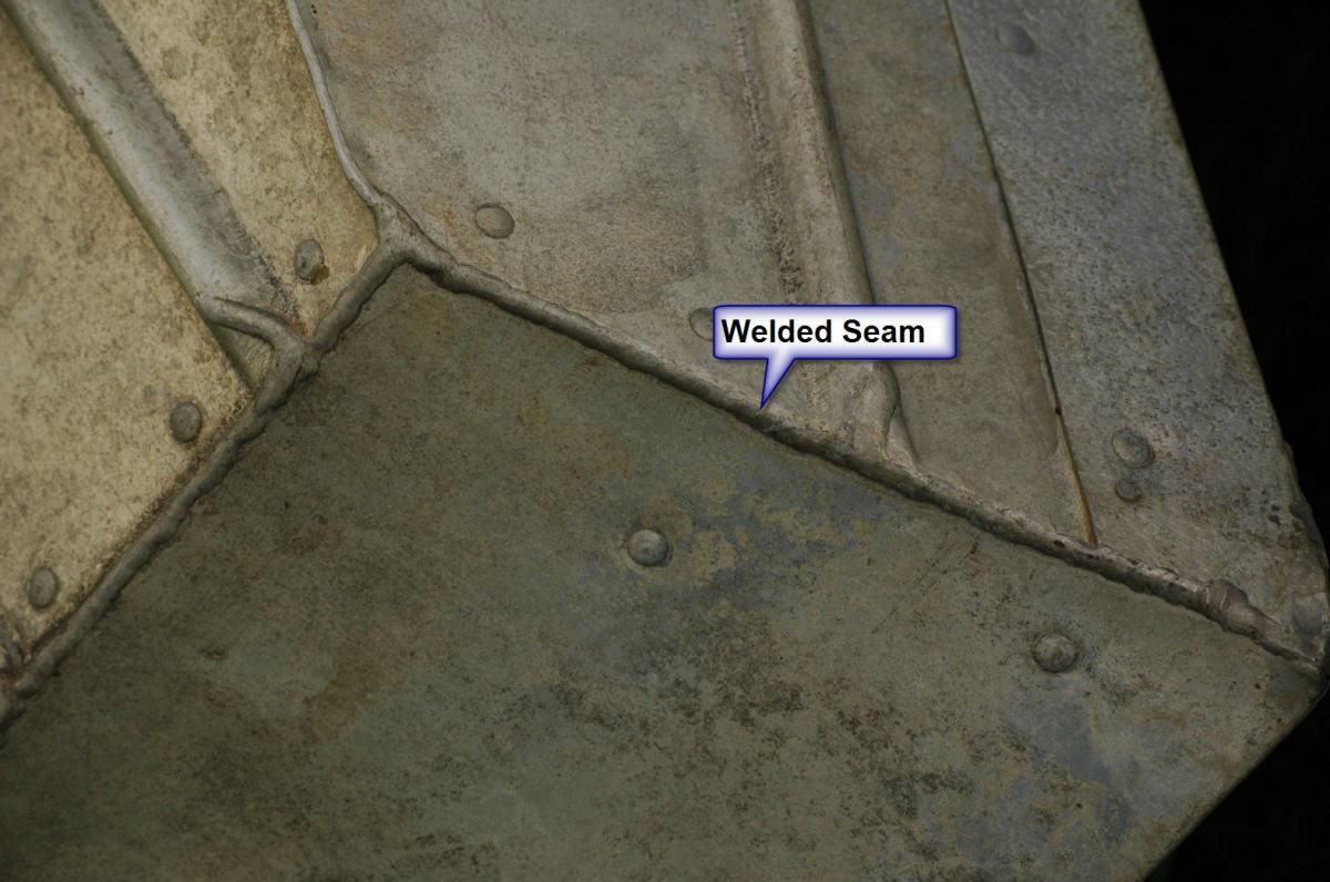 Tinboat Welded Seam