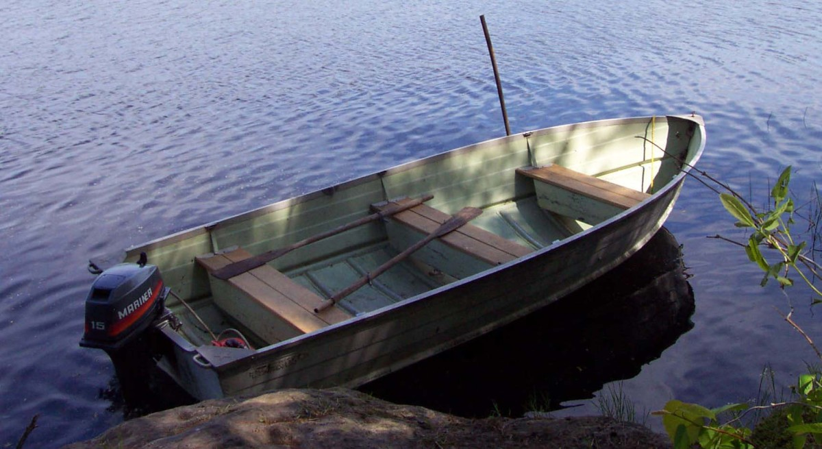 Old Tinboat