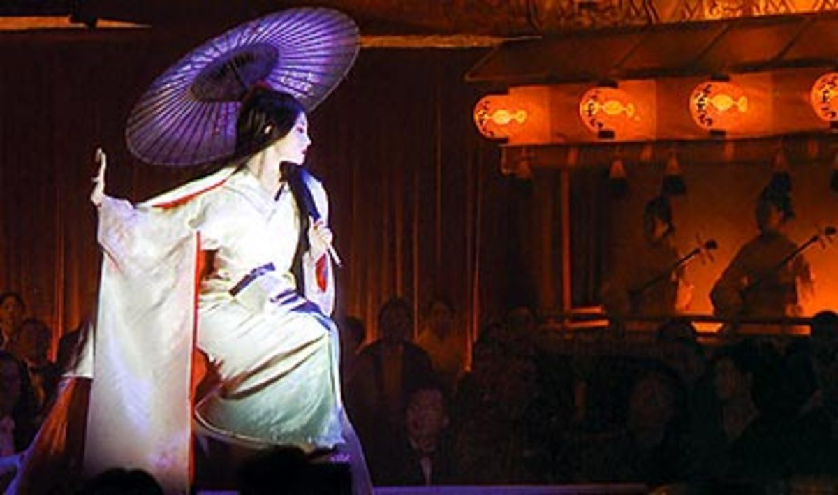 Memoirs of a geisha: Snow dance