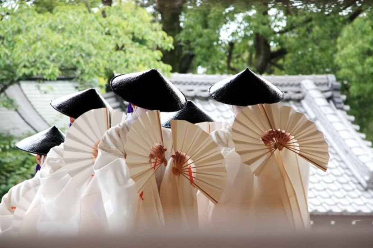 Dance dedicated to Okuni Kabuki