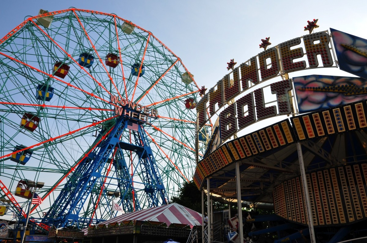 Beautiful image of the Coney Island Wonder Wheel