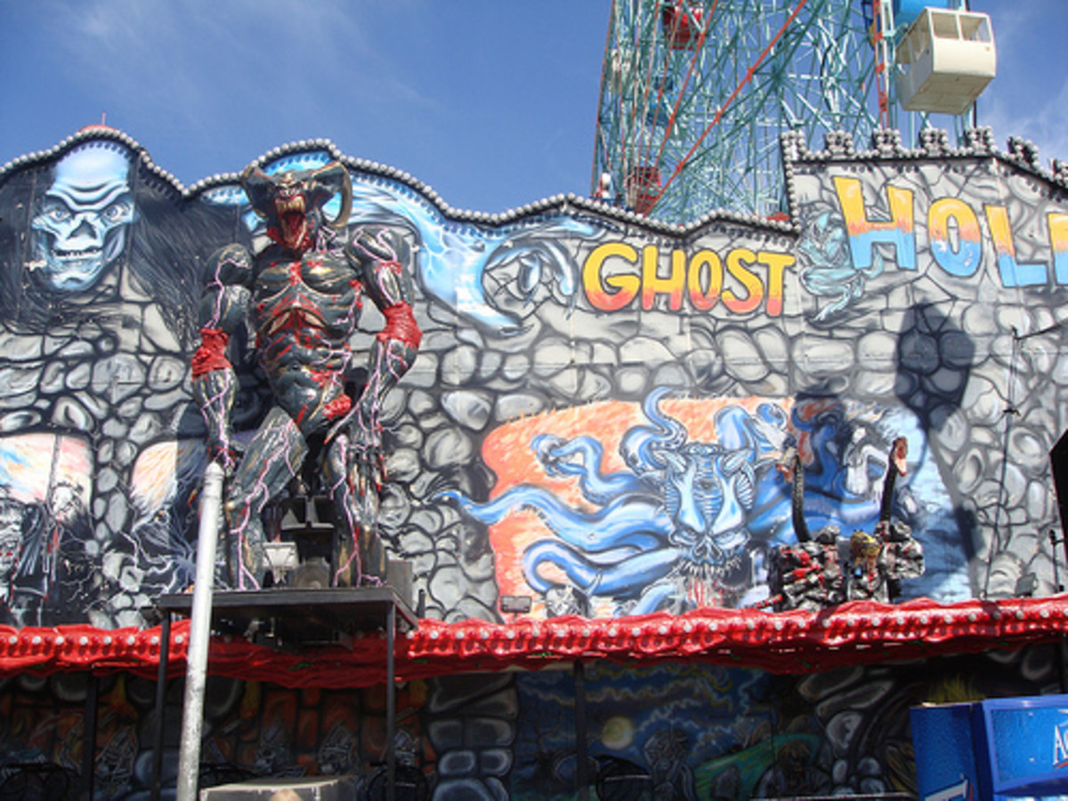 The Ghost Hole: Maybe not for kids