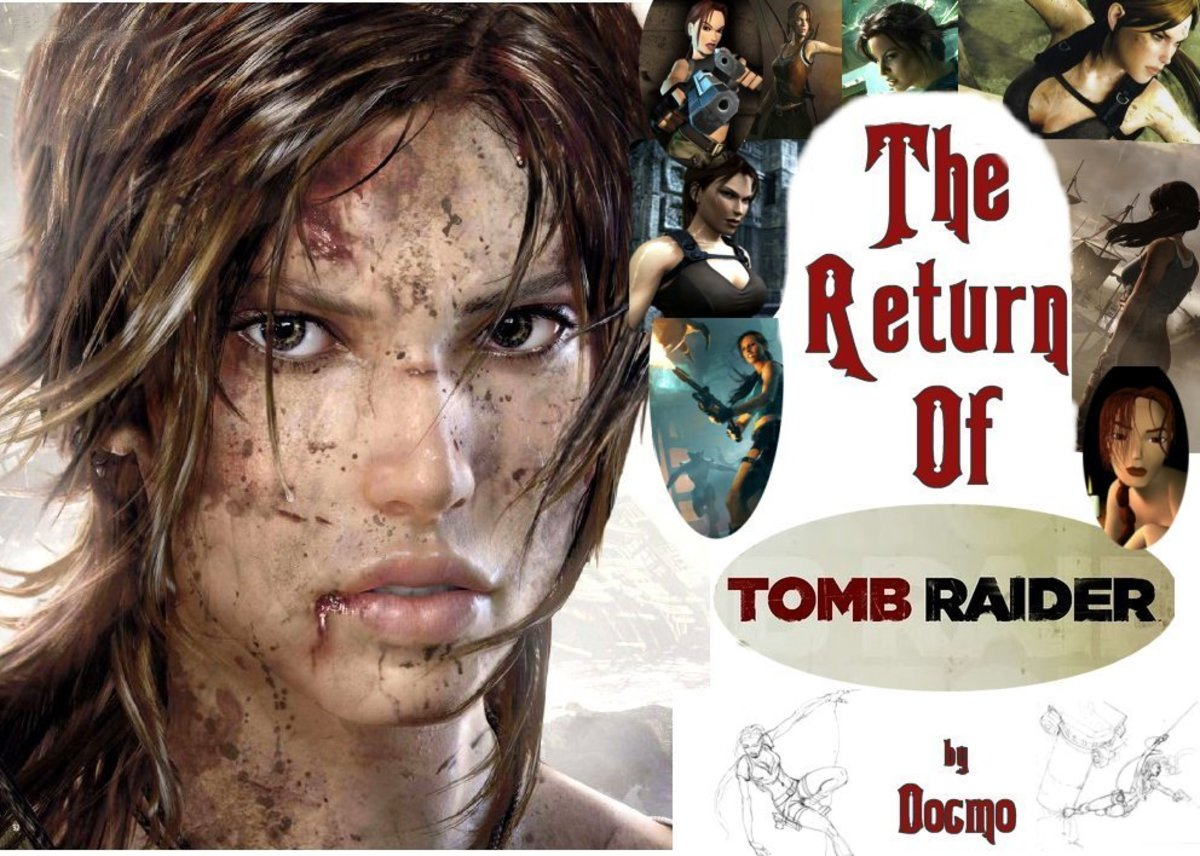 History of Tomb Raider : The Digital Evolution of Lara Croft