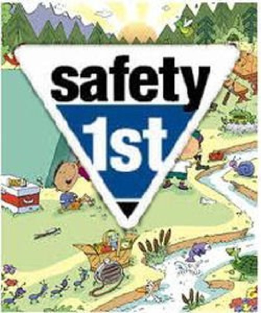 Camping Safety First