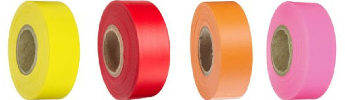 Caution and Flagging tape for camping