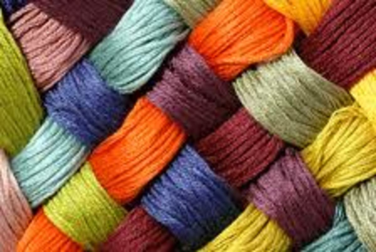 There are many types of carpet fibers