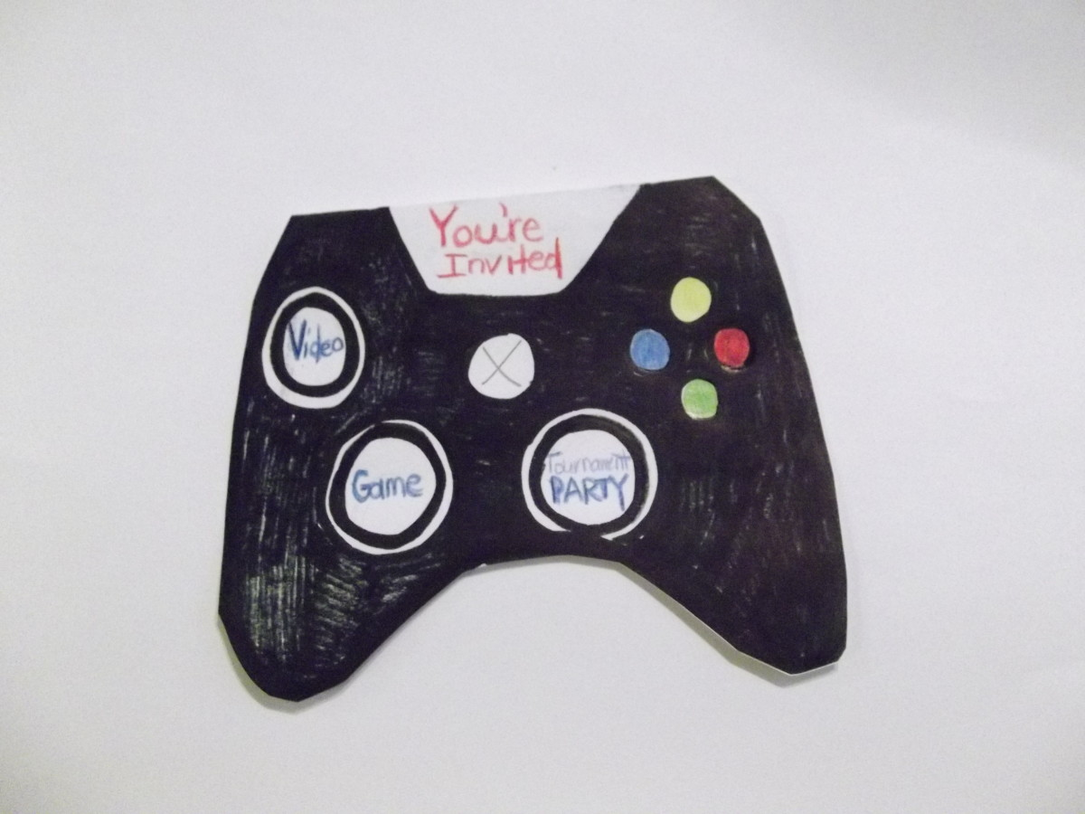 Video game controller invitation