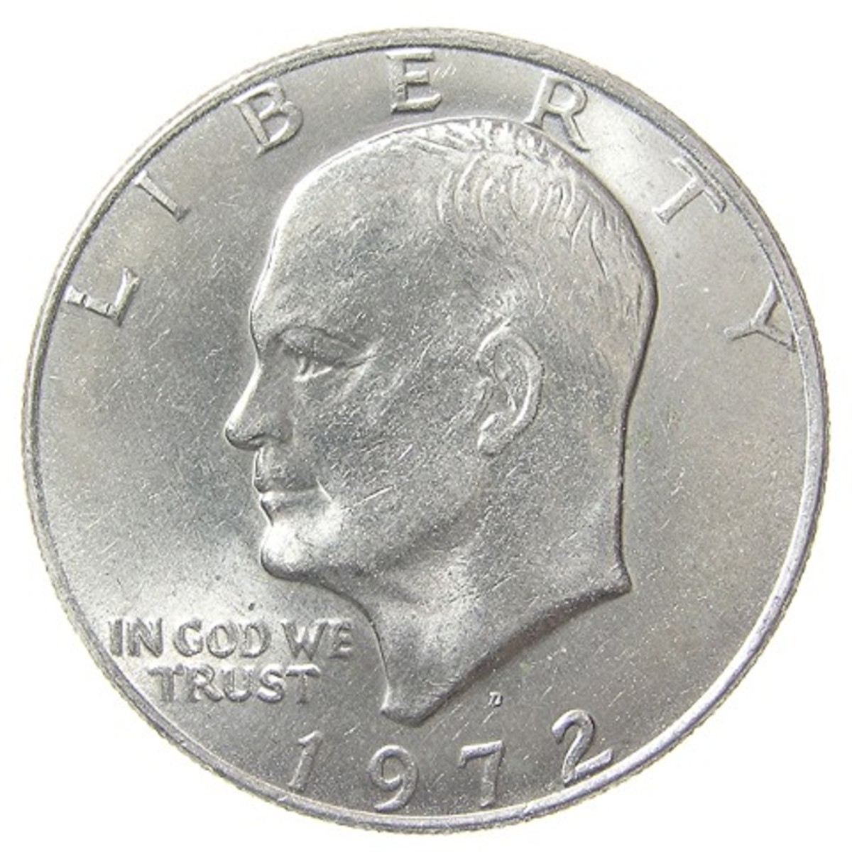 The Eisenhower Dollar: The last of the Over-sized Dollar Coins