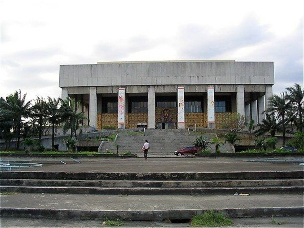 Manila Film Center, Most Haunted places in Philippines