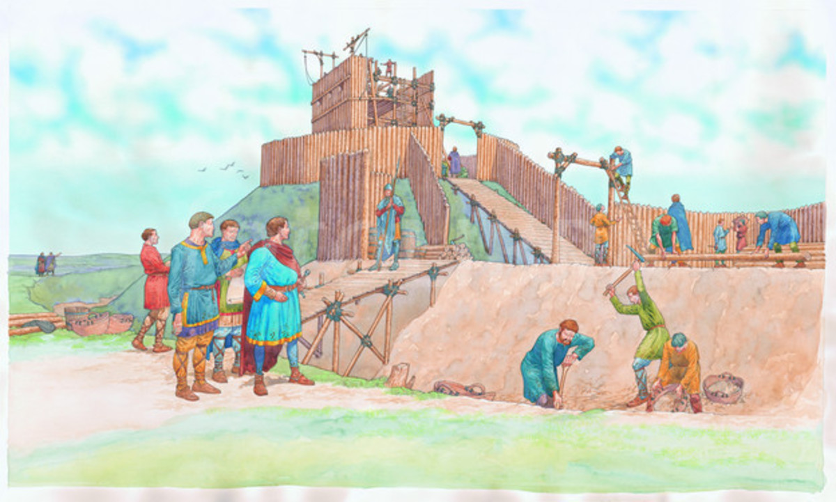 Conquest 16: An Englishman's Home Is in the Shadow of His Norman Lord's Castle