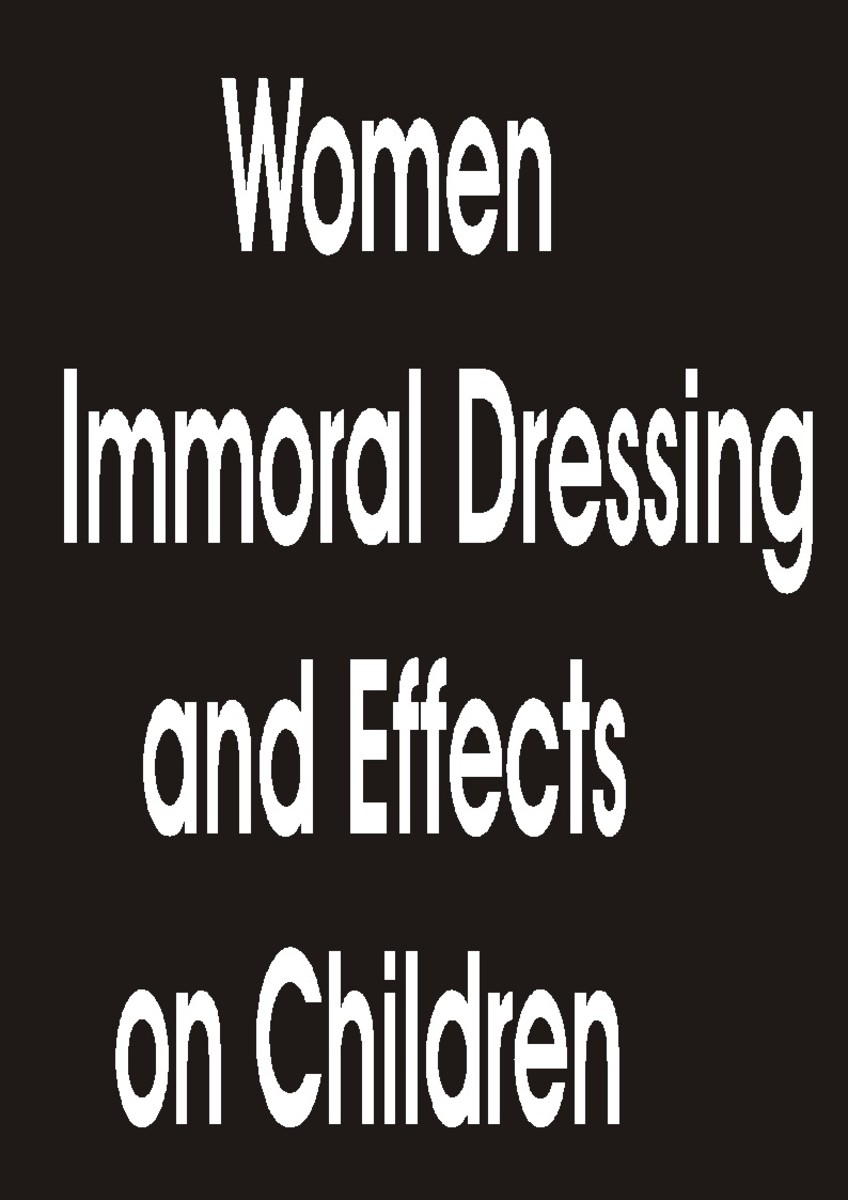 Indecent dressing by married women and effects on children.
