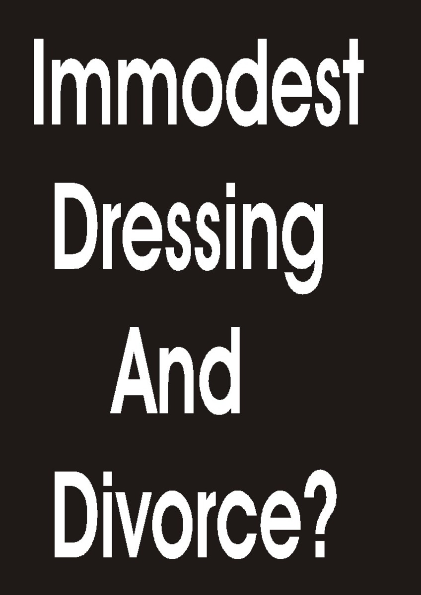 How indecent dressing can cause divorce