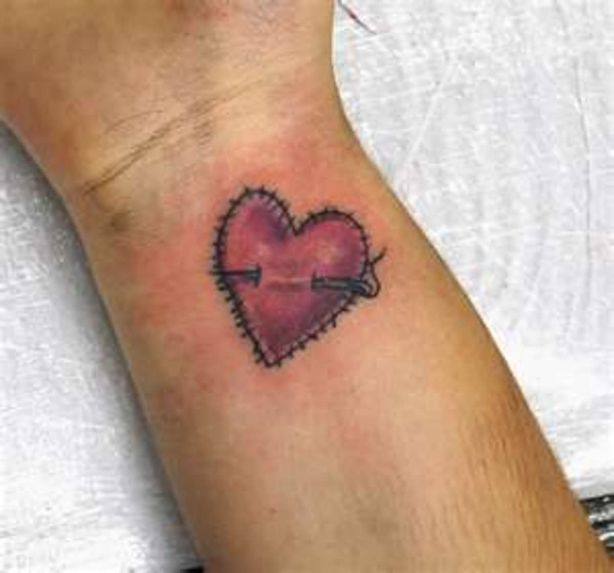 Unique Small Heart Tattoos