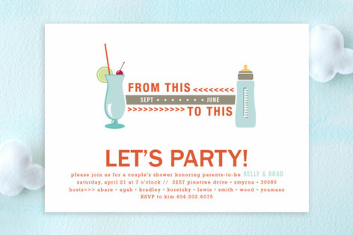 20 funny unique baby shower invitations hubpages