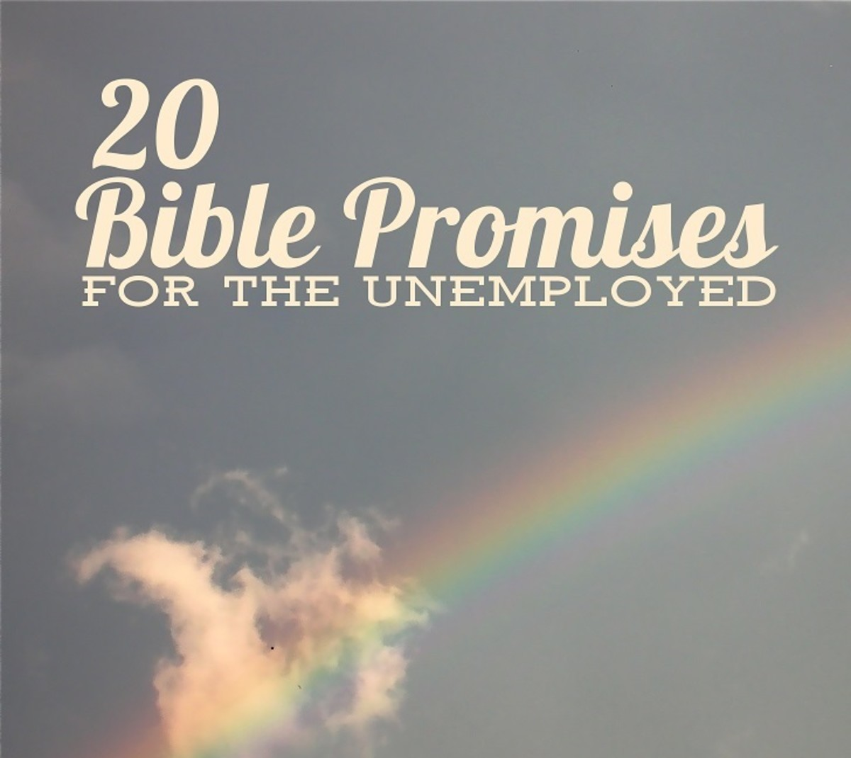 20 Bible Promises for the Unemployed