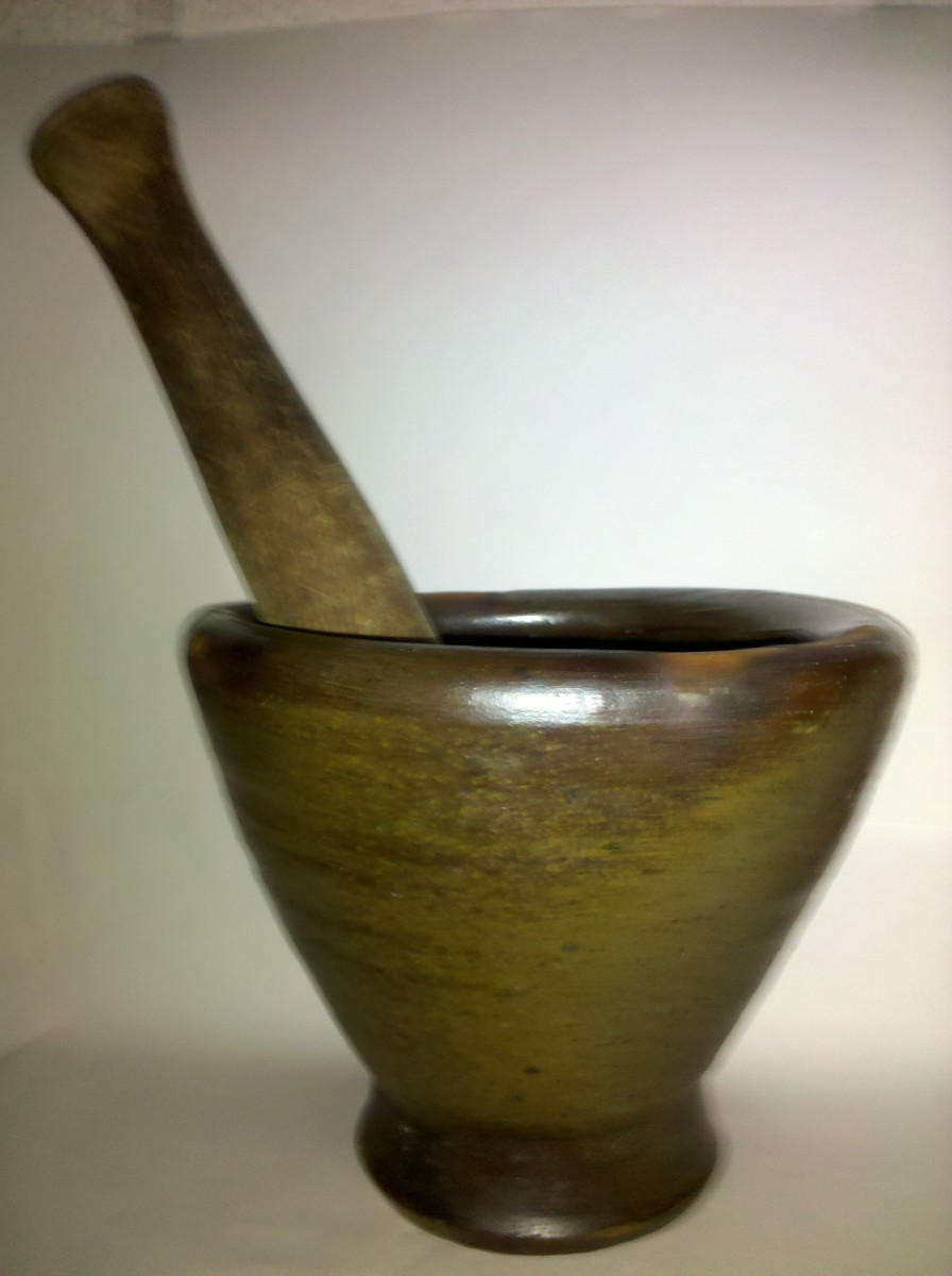 A Pestle and Mortar is great for Mixing Spices and Making Pastes. A Must-Have Tool for Every Chef!