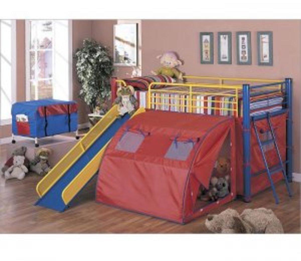 bunk beds with slides for boys and girls loft beds cheap bunk beds sale. Black Bedroom Furniture Sets. Home Design Ideas