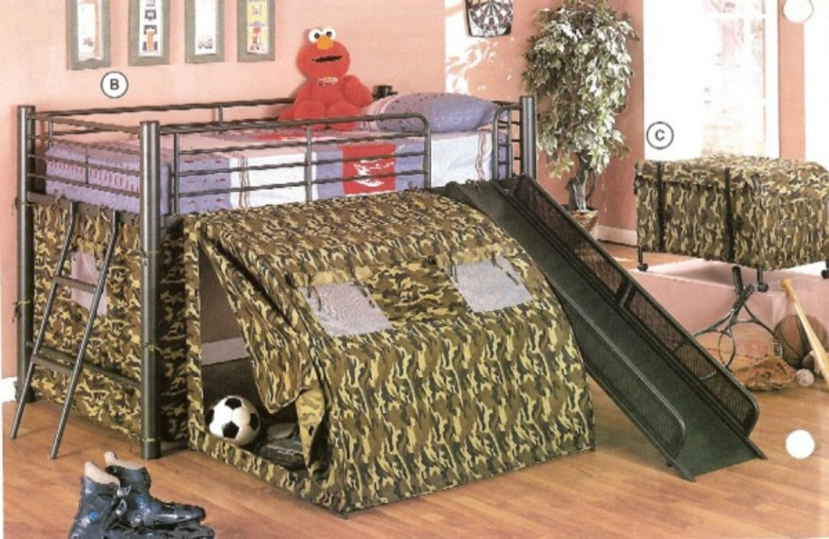 Bunk Beds With Slides For Boys And Girls Loft Beds Cheap
