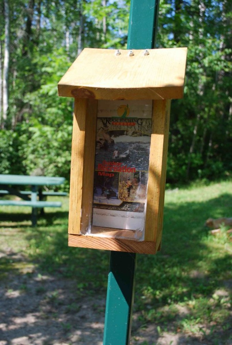 Pick up a Koochiching County Recreation Map, there's lot's more to see in this county.