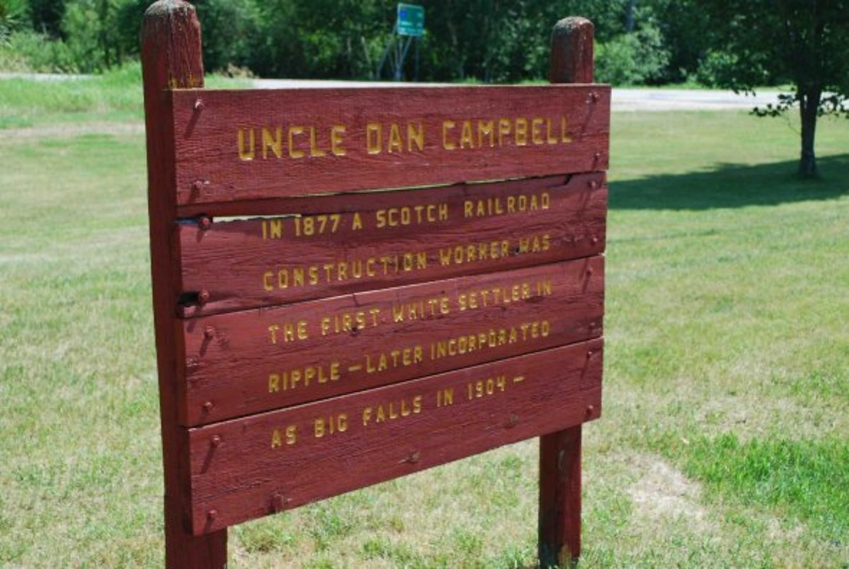 Uncle Dan Campbell background sign