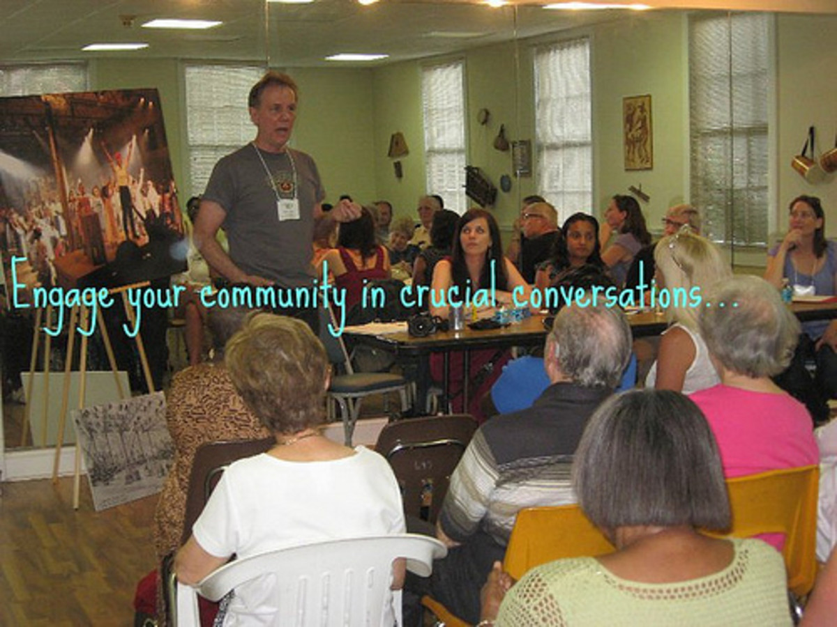 engaging in community stories
